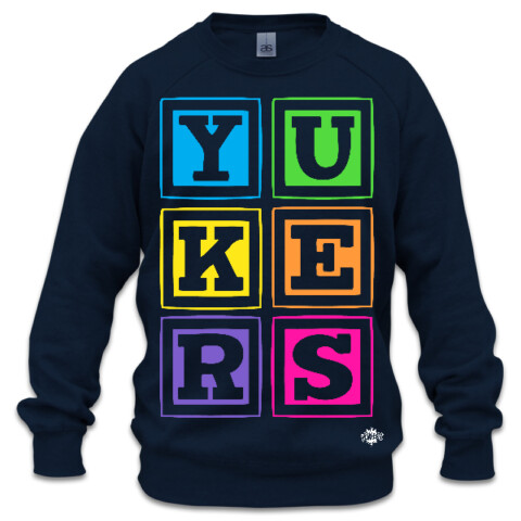 YUKERS STACKED BOXCREW - YUKERS